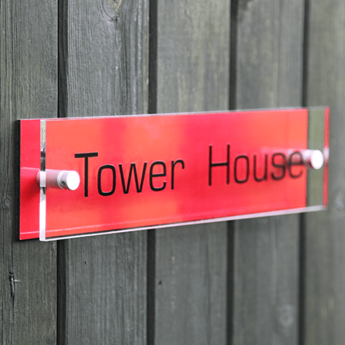 Custom House Signs Personalised House Signs by Design A House Sign